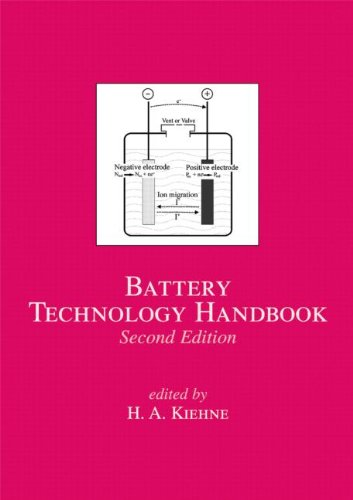 Battery Technology Handbook (Electrical And Computer Engineering)