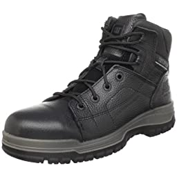 Caterpillar Men\'s Dimen Hi Steel-Toe Boot,Black,8.5 M US