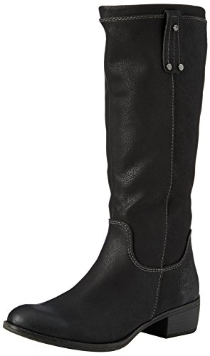 Marco Tozzi 25534, Damen Langschaft Stiefel, Schwarz (Black Antic 002), 40 EU (6.5 Damen UK)
