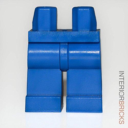 LEGO Minifigure Hips & Legs (Blue) [parts,pieces,body] (Lego Minifigures Body Parts compare prices)