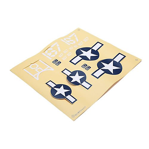 HobbyZone Decal Sheet: Corsair S HBZ8209 - 1