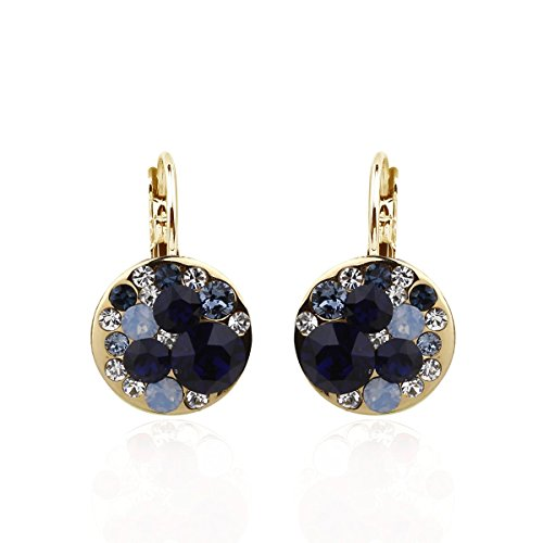 park-avenue-ohrringe-disc-multicolor-gold-dunkelblau-made-with-crystals-from-swarovski