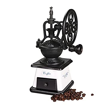 ASAPS Vintage Coffee Grinder (Black+White)