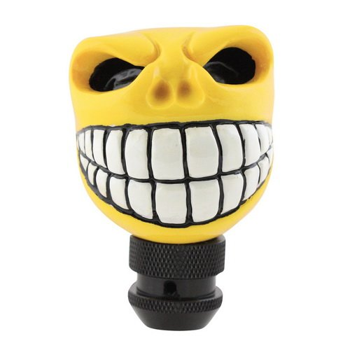 Universal Pilot Automotive Yellow Hot Rod Roddy Head Manual Shift Knob PM-2284 (Hot Rod Shift Knob compare prices)