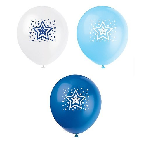 United Stars Printed Latex Balloons Package of 8 - 1