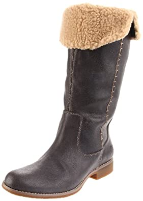 Timberland Women's 25668 Shoreham Knee-High Boot,Dark Grey,6.5 M US