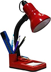 ESN 999 Stylish Red 001 Table Lamp For Home/Office/Study