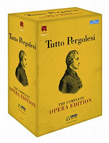 Tutto Pergolesi - The complete Opera Edition [12 DVDs]