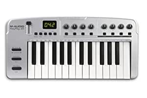 m audio keyrig 25 25 note synth action keyboard and midi controller musical instruments. Black Bedroom Furniture Sets. Home Design Ideas