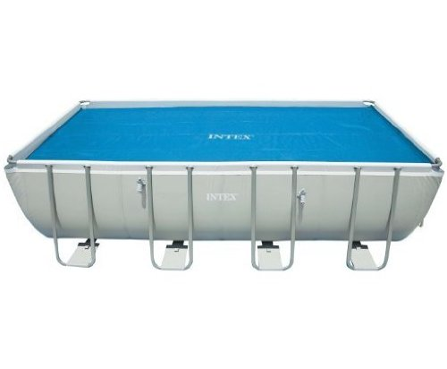 Intex solar cover for 18ft x 9ft rectangular frame pools for Intex pool handler