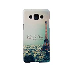 Newtronics Fashion Designer Vintage Love In Paris Calender Eiffel Tower Hard Back Cover Case for Samsung Galaxy A5 (A5000)