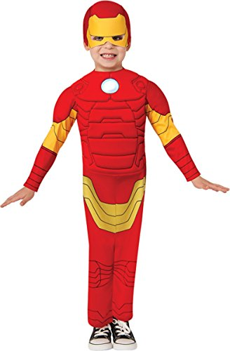 Morris Costumes Little Boys Iron Man Costume, 1-2