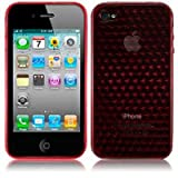 GEL Case for iPhone 4 - RED