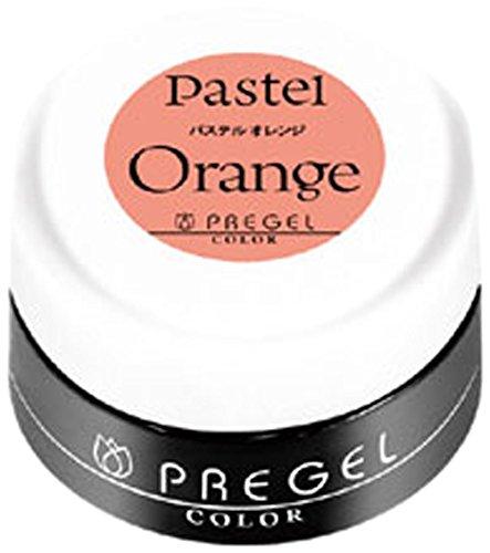 プリジェル カラージェル パステルオレンジ 3g PGー247