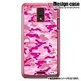 HTC J ISW13HTハード ケース カバー ジャケット/1050_迷彩ピンク/CR