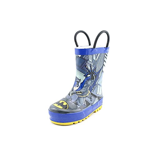 Western Chief Batman Lunge 2 Toddler Boys Size 5 Blue Rain Boots front-851682