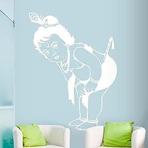DeStudio Krishna Flip Chalkboard Wall Decal, Size XXX Large & Color : WHITE