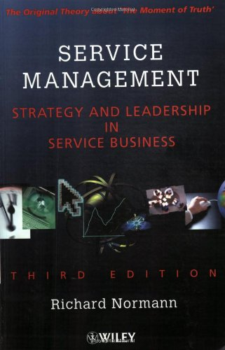 Service Management : Strategy and Leadership