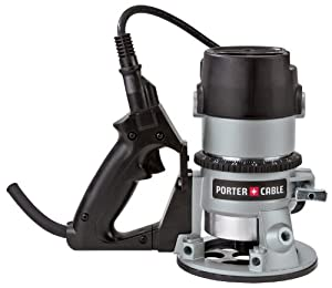 PORTER-CABLE 691 11 Amp 1-3/4-Horsepower D-Handle Router with 1/4-Inch and 1/2-Inch Collets by PORTER-CABLE