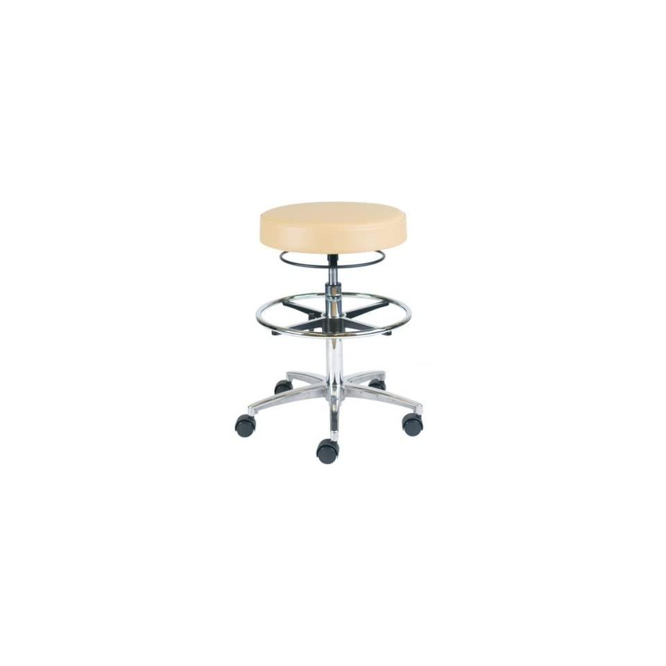 Office Master CL13 Trumpet Vinyl Medical Dental Stools Chairs with Footring