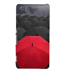 Umbrellas 3D Hard Polycarbonate Designer Back Case Cover for Sony Xperia M5 Dual :: Sony Xperia M5 E5633 E5643 E5663