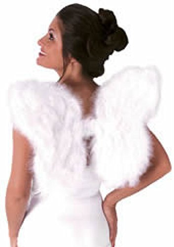 Soft Feathered Angel Wings