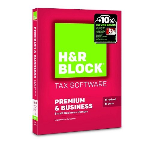 H R Block Tax Software 0735290105561/