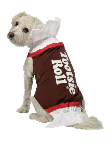Extra Large - Tootsie Roll Dog Costume Xl