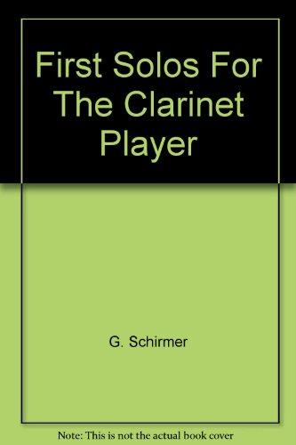 first-solos-for-the-clarinet-player-partituras-para-clarinete-acompanamiento-de-piano
