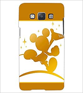 PrintDhaba Mickey Mouse D-1377 Back Case Cover for SAMSUNG GALAXY A5 (Multi-Coloured)