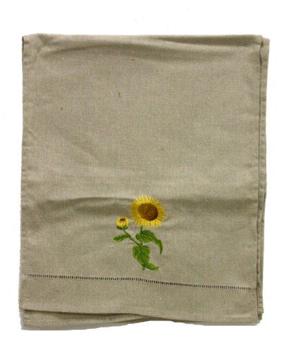 Renaissance 2000 Table Runner, 14-Inch by 72-Inch, Sunflower