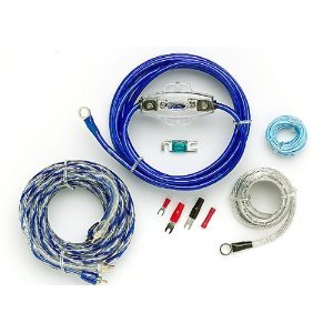 Scosche 680 Watt 8-Gauge Wiring Kit For Single Amps