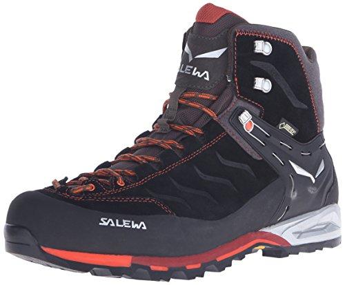 SALEWA - MS MTN TRAINER MID GTX, Scarpe da trekking da uomo, Nero (Black/Indio 0943), 43 EU