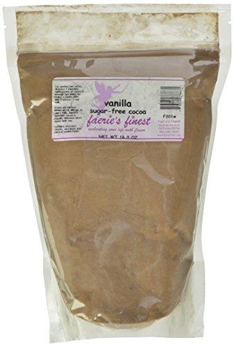 Faeries Finest Sugar-Free Cocoa, Vanilla, 16 Ounce