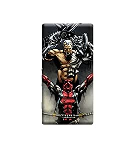 EPICCASE Premium Printed Back Case Cover With Full protection For Sony Xperia M2 (Designer Case)