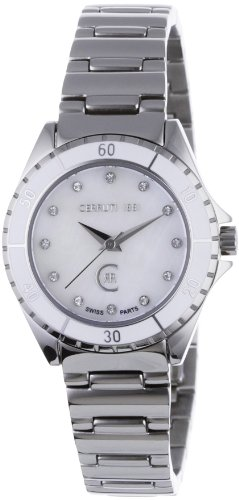 Cerruti Women's Quartz Watch CRM029N211B with Metal Strap