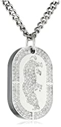 Rhino by Marc Ecko Men's E8M086MV The MacDaddy Stoned Out Ecko Dog Tag Watch