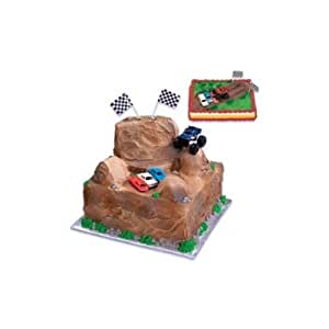 Cake Decorating Kit With Book : Monster Truck Cake Decorating Kit: Amazon.co.uk: Kitchen ...