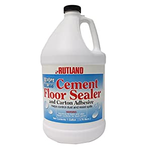 Rutland 146 Water Glass Cement Floor Sealer for Fireplace
