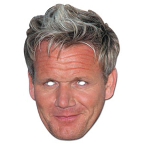 Party Bags 2 Go Gordon Ramsey Celebrity Face Mask