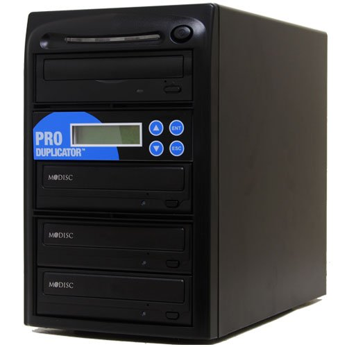 Produplicator 1 to 3 M-Disc (Permanent Data Back Up Disc) CD DVD Duplicator (with Nero Essentials Burning Software) - Standalone Duplication Tower Copier Replication Burner (Hdd Copy Software compare prices)