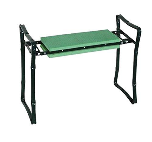 Garkit Gardening Tools Green Foldaway Folding Kneeling Kneeler Bench Garden Kneeler Seat Home