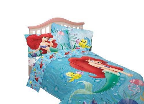 Buy Cheap Disney Little Mermaid Sea Friends Twin Sheet Set