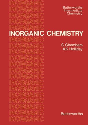 Inorganic Chemistry: Butterworths Intermediate Chemistry PDF