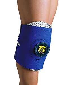 Body Glove 90145 Deluxe Ice Pack Knee and Elbow Wrap, Blue, Unisize