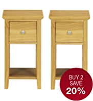 Hastings Natural Compact Bedside Chests