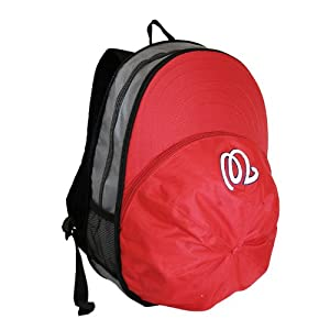MLB Washington Nationals Heads Up Backpack, Red by Concept 1