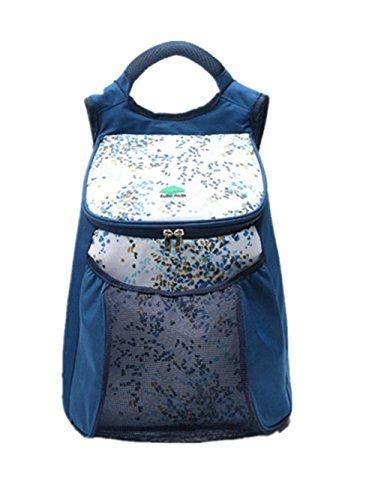 TANG imp Nuovo Insulated Termica Borsa Del Pranzo Picnic Borse Porta Alimenti Tessuto Oxford Pranzo Tote Sacco Bento Stoccaggio Lunchbox Pouch Blu