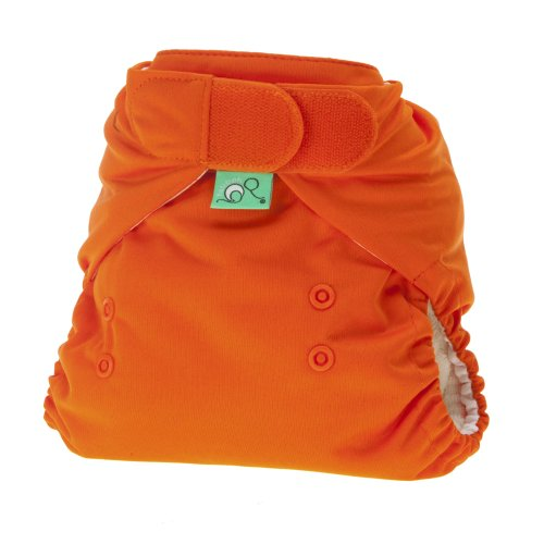 TotsBots 5060131212746 Stretchy Wrap Trousers for Cloth Nappies Size 1 Orange - 1