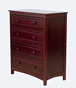 Dream On Me Arlington 4 Drawer Chest, Cherry